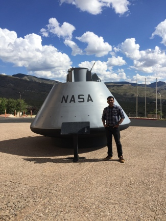 Visit to New Mexico Space Museum